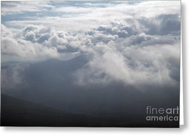 Storm Clouds - White Mountains New Hampshire Greeting Card by Erin Paul Donovan