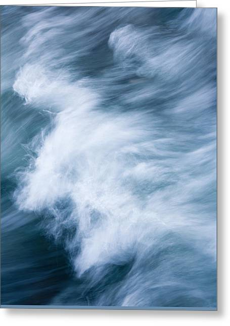 Storm Driven Greeting Card by Mike  Dawson