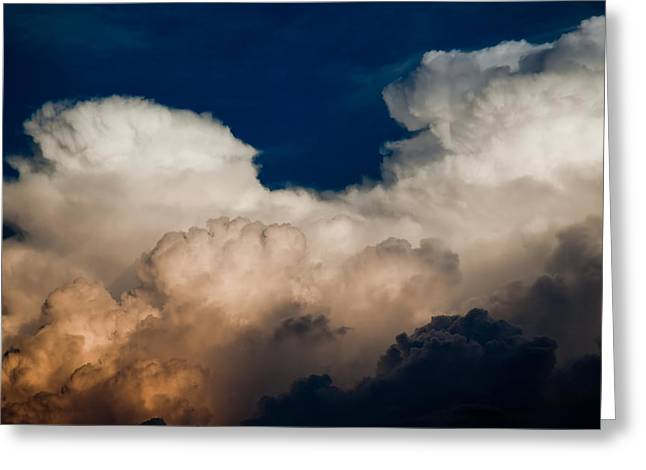 Storm Front Greeting Card by Patrick  Flynn