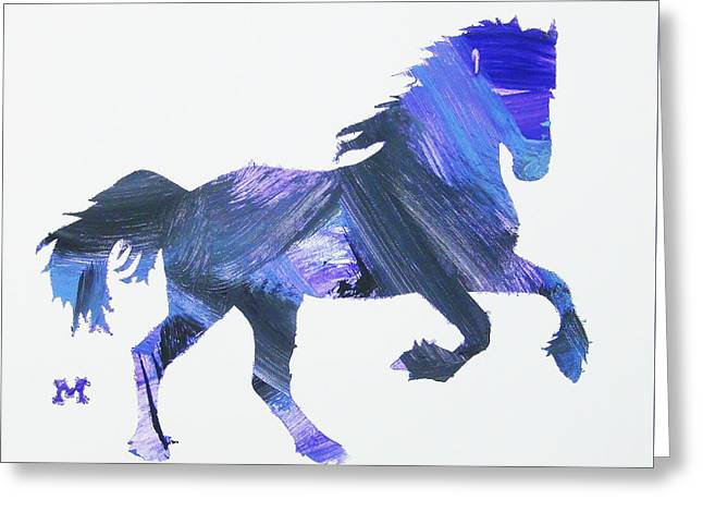 Storm Horse Greeting Card
