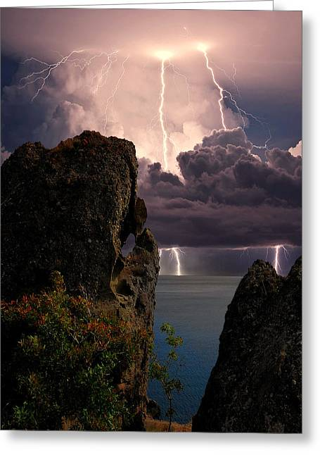 Storm In The Crimea Greeting Card by Yuri Hope