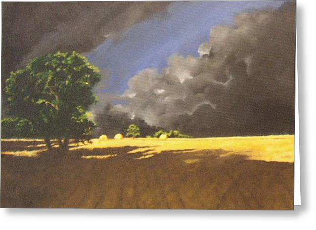 Storm Greeting Card by Jane  Simpson