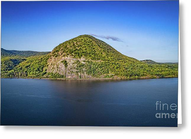 Storm King Mountain From Breakneck Ridge Greeting Card