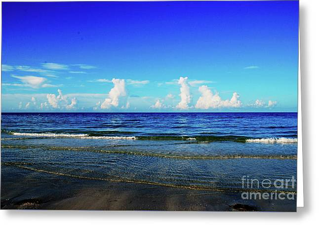 Greeting Card featuring the photograph Storm On The Horizon by Gary Wonning