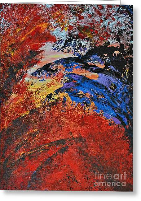 Storm On The Sea Greeting Card