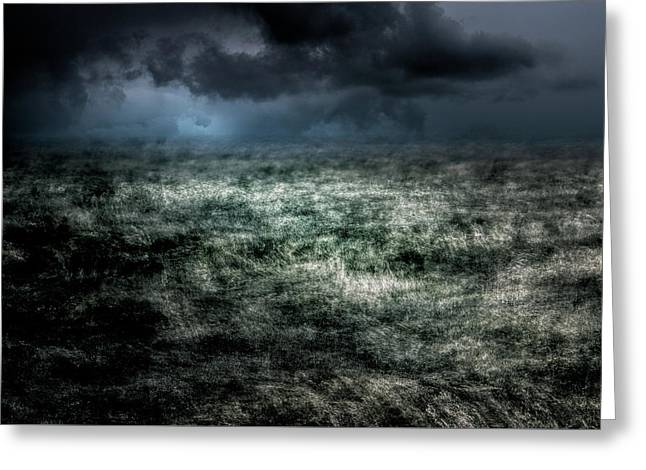 Storm On The Sound Greeting Card