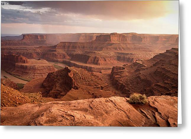 Storm Over Canyonlands Greeting Card