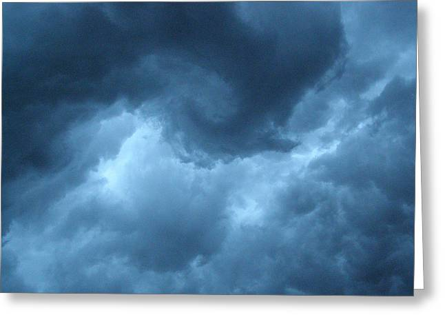 Greeting Card featuring the photograph Storm Rolling In by Angie Rea