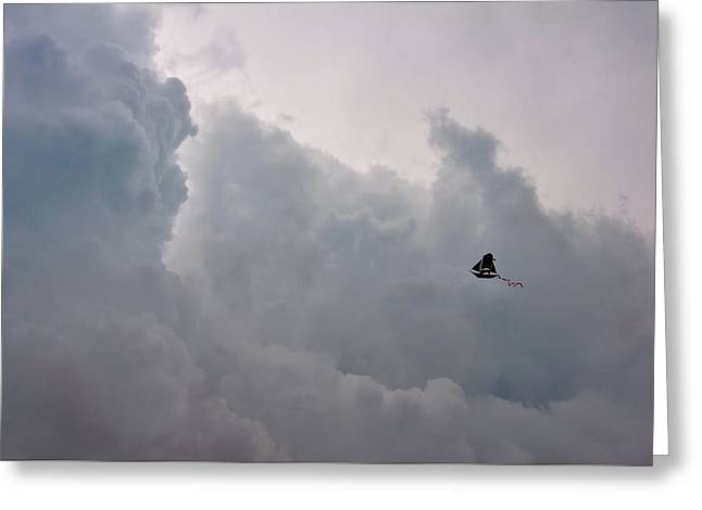 Storm Rover Greeting Card by JAMART Photography