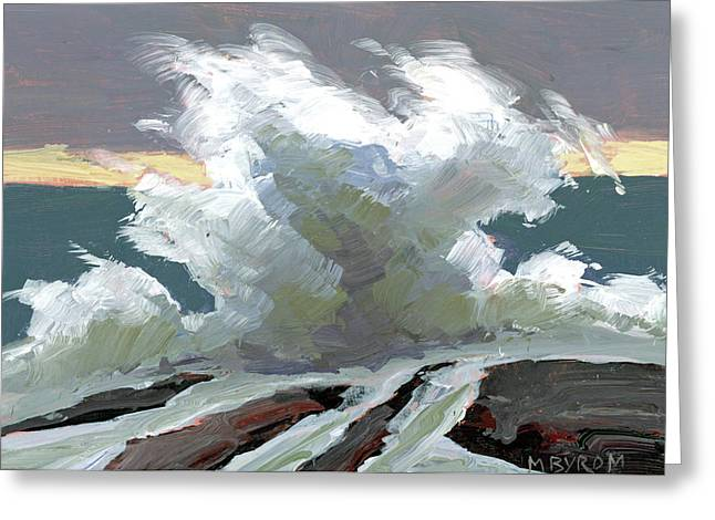 Storm Swept I Greeting Card by Mary Byrom