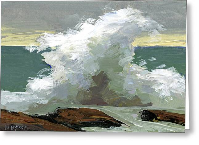 Storm Swept II  Greeting Card by Mary Byrom
