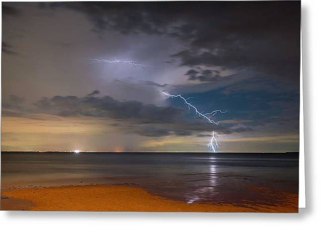 Storm Tension Greeting Card