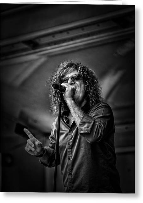 Photo Art Gallery Greeting Cards - Stormbringer Band Greeting Card by Kevin Cable