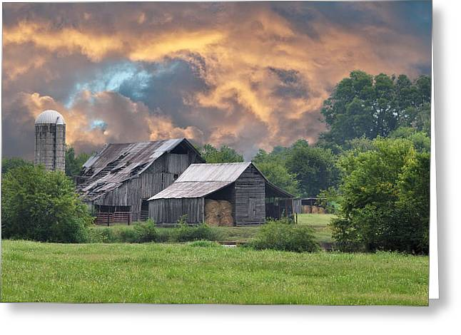 Storm's Coming I Greeting Card by Jan Amiss Photography