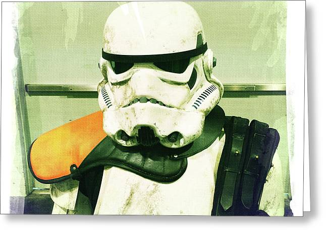 Stormtrooper 2 Greeting Card