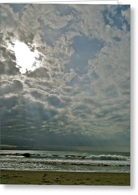 Stormy Afternoon Greeting Card by Liz Vernand