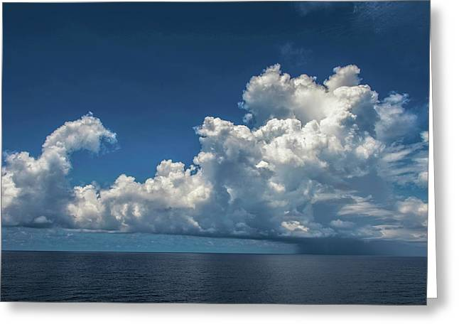 Stormy Clouds At S. China Sea Greeting Card by Judith Barath