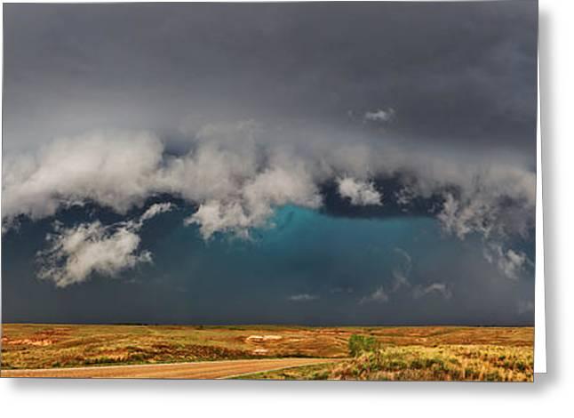 Stormy Horizon Greeting Card