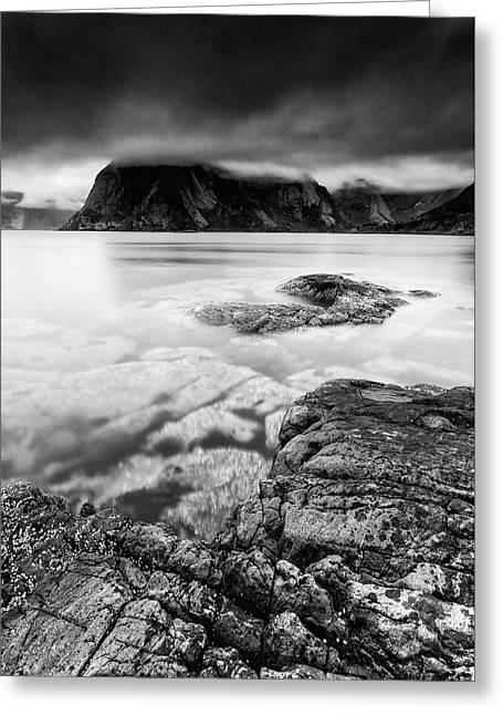 Stormy Lofoten Greeting Card