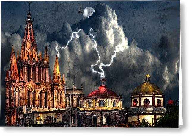 Stormy Night Greeting Card