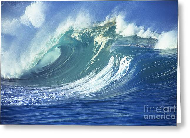 Stormy Ocean Greeting Card by Vince Cavataio - Printscapes