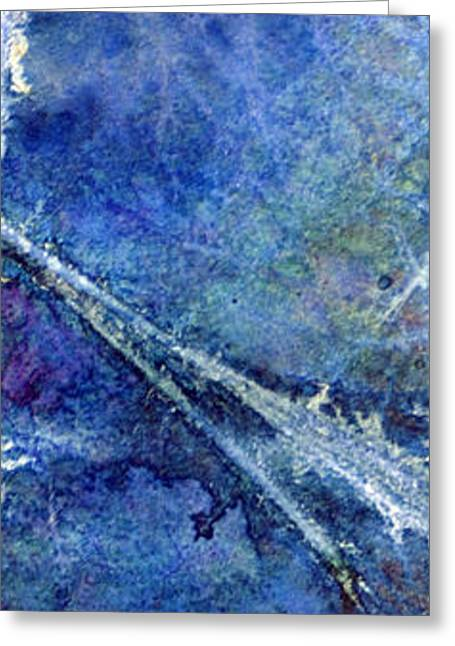 Stormy Sea 2 Greeting Card by Darren Leighton