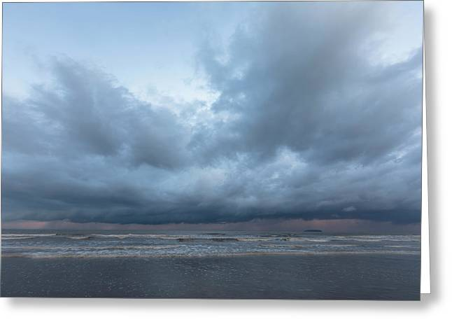 stormy sky - England Greeting Card
