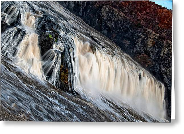 Stormy Waters Greeting Card by Neil Shapiro