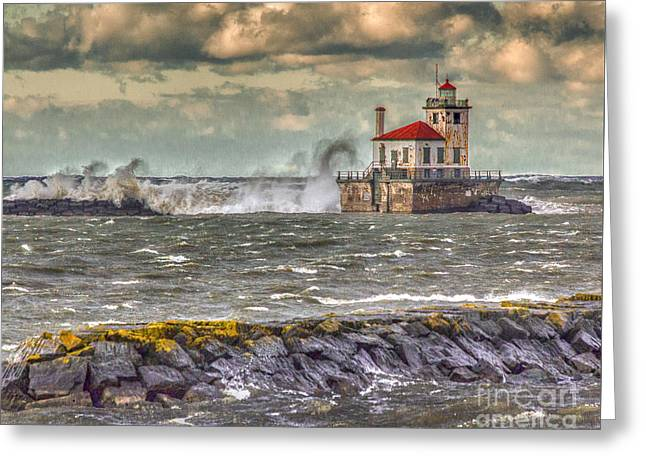 Stormy Waters Greeting Card