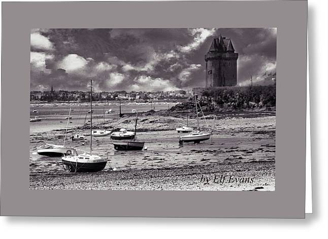 Greeting Card featuring the photograph Stormy Weather by Elf Evans
