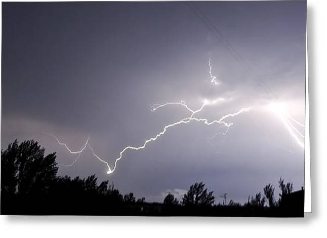 Stormy Weather Greeting Card by Svetlana Sewell