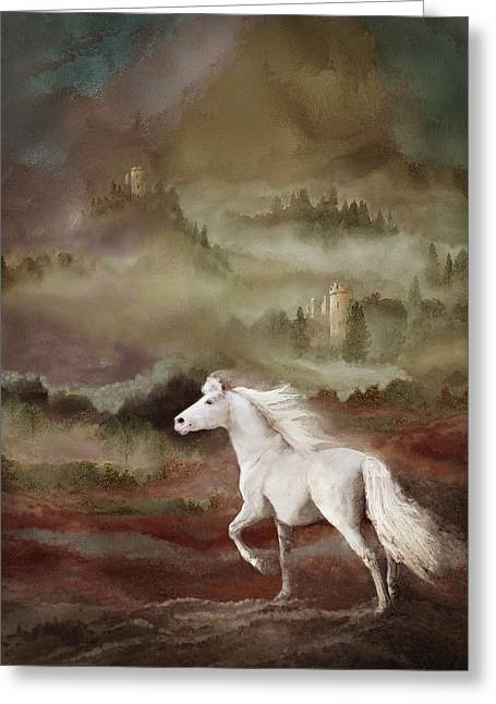 Storybook Stallion Greeting Card