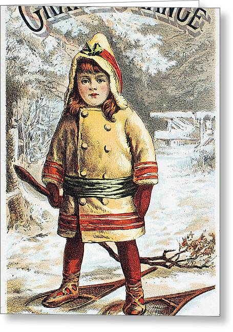 Stove Trade Card, C1890 Greeting Card by Granger