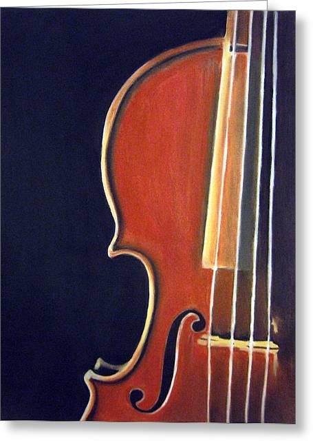 Stradivarius Greeting Card