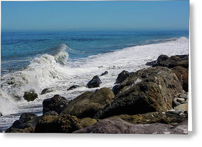 Greeting Card featuring the photograph Strait Of Juan De Fuca by Tikvah's Hope