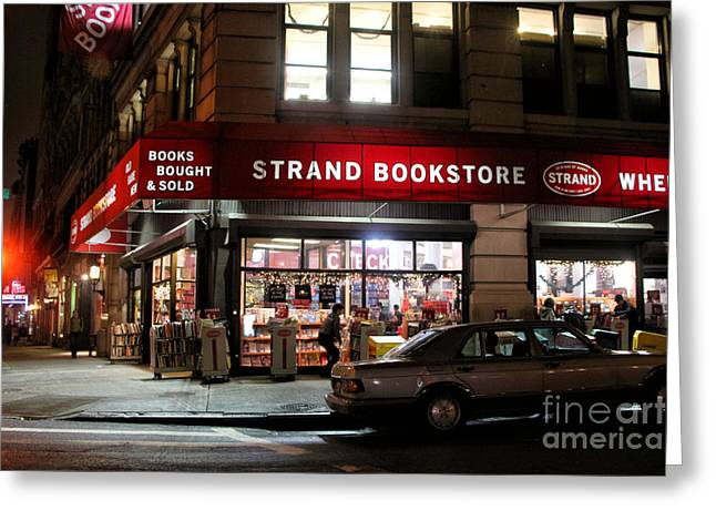 Strand Bookstore Greeting Card