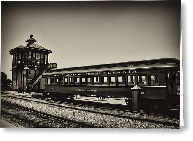 Paradise Road Greeting Cards - Strasburg Rail Road Greeting Card by Bill Cannon