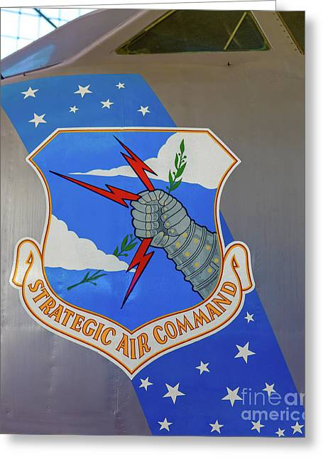 Strategic Air Command Greeting Card