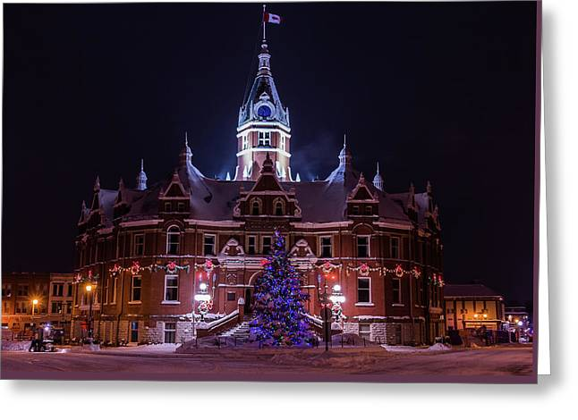 Stratford City Hall Christmas Greeting Card