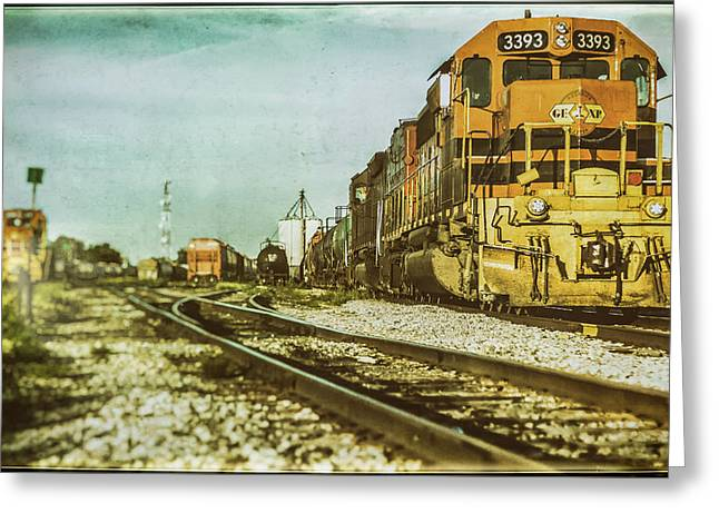 Stratford Rail Yard 2016 Greeting Card