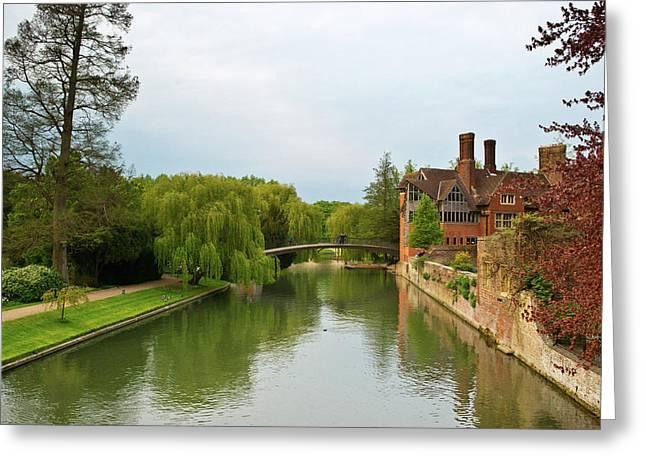Stratford Upon Avon 2 Greeting Card by Douglas Barnett