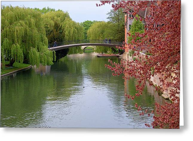 Stratford Upon Avon 6 Greeting Card by Douglas Barnett