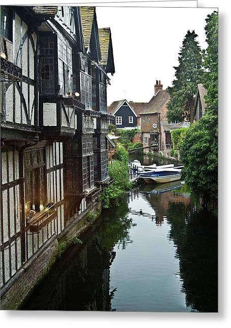 Stratford Upon Avon 7 Greeting Card by Douglas Barnett