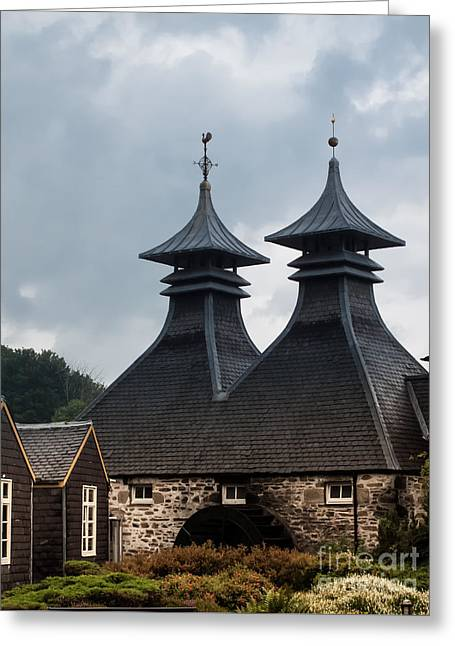 Greeting Card featuring the photograph Strathisla Whisky Distillery Scotland #2 by Jan Bickerton