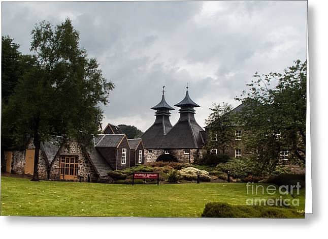 Greeting Card featuring the photograph Strathisla Whisky Distillery Scotland #3 by Jan Bickerton