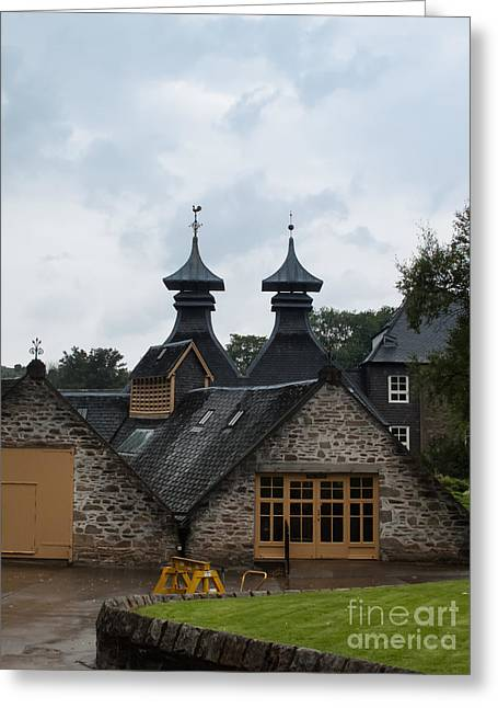 Greeting Card featuring the photograph Strathisla Whisky Distillery Scotland #4 by Jan Bickerton