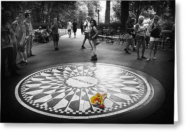 Strawberry Fields Forever Greeting Card by Jessica Jenney
