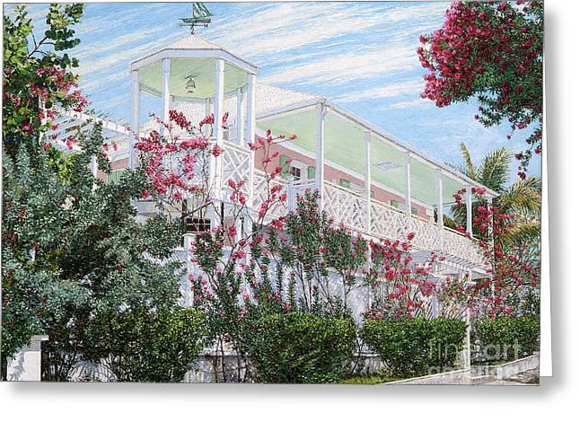 Strawberry House Greeting Card
