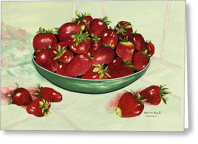 Strawberry Memories Greeting Card