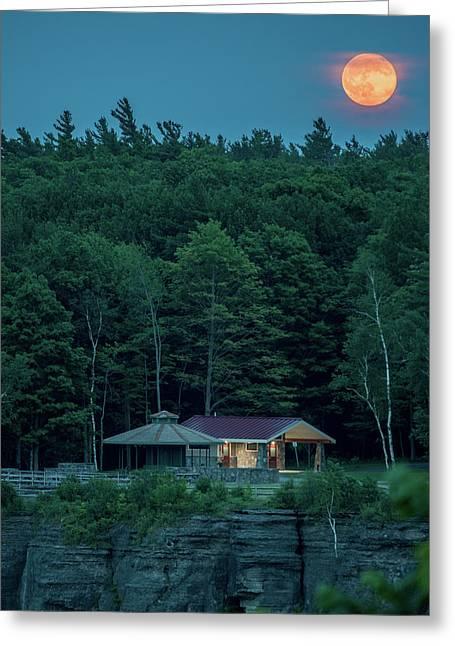Strawberry Moon Greeting Card